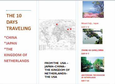 ecosystem brochure template - biome travel brochure example pictures to pin on pinterest